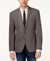 Bar Iii Men's Slim Fit Knit Soft Sport Coat Only At Macy's Grey