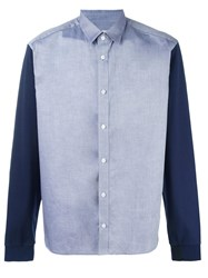 Kenzo Double Texture Shirt Blue