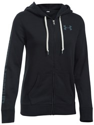 Under Armour Favourite Fleece Full Zip Hoodie Black