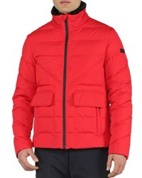 Fendi Basic Nylon Puffer Jacket Red