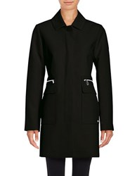 Kenneth Cole Calvary A Line Topper Black