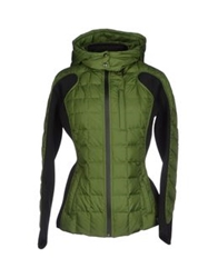 Bacon Down Jackets Military Green