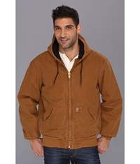 Big Tall Qfl Sandstone Active Jacket Carhartt Brown Men's Jacket