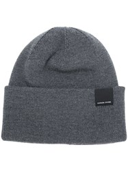 Canada Goose Fitted Beanie Grey