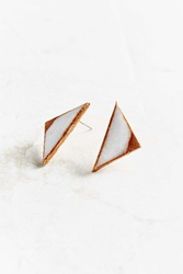 Urban Renewal Maple Mauve Natural Arrow Earring