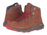 Danner Mountain 600 4.5 Brown Red Women's Shoes