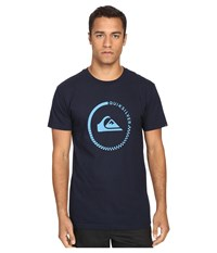 Quiksilver Everyday Active Tees Navy Blazer Men's Short Sleeve Pullover