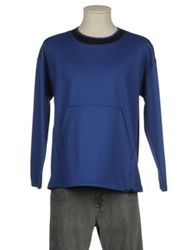 Jil Sander Navy Long Sleeve T Shirts Bright Blue
