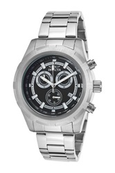 Invicta Men's Specialty Chronograph Stainless Steel Watch No Color