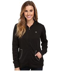 Ariat Tek Fleece Zip Black Women's Fleece