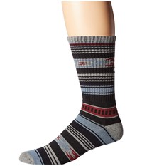 Vans Canyon Stripe Crew Socks Canyon Stripe Men's Crew Cut Socks Shoes Blue