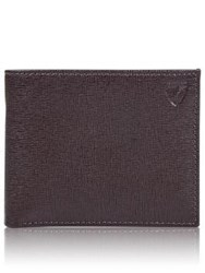 Aspinal Of London Billfold Wallet Brown