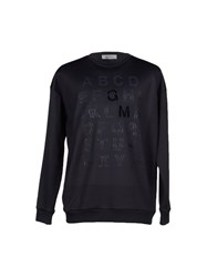 Mauro Grifoni Topwear Sweatshirts Men Dark Blue