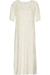 Kain Label Moby Printed Stretch Jersey Dress Off White