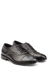 Maison Martin Margiela Studded Leather Lace Ups Black