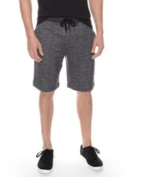 2Xist Camo Terry Drawstring Shorts Black