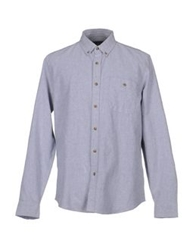 Topman Shirts Light Grey