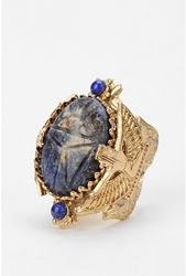 Urbanoutfitters.Com Blue Scarab Ring