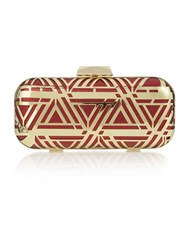 Biba Long Box Clutch Bag Red