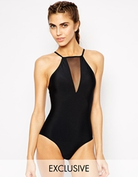 Oh My Love Exclusive To Asos High Neck Swimsuit