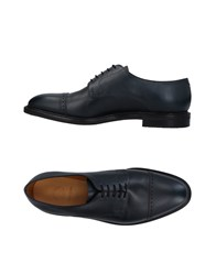 John Lobb Lace Up Shoes Dark Blue