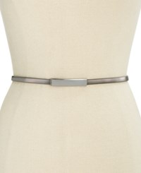 Inc International Concepts Cobra Stretch Belt Only At Macy's Gunmetal