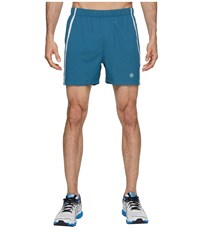 Asics Legends 5 Shorts Blue Steel Heather Gray