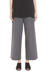 Eileen Fisher Women's Wide Leg Crop Pants