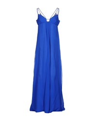Gai Mattiolo Long Dresses Blue
