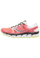 Saucony Propel Vista Neutral Running Shoes Coral White Black