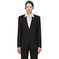 Saint Laurent Black Classic Blazer