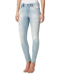 Miraclebody Jeans Faith Skinny Fit Distressed Denim Pants Calder Wash