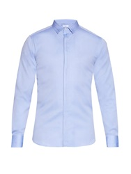 Joseph Pleat Oxford Cotton Shirt