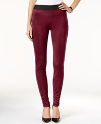 Inc International Concepts Faux Suede Skinny Leggings Only At Macy's Port