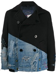 Greg Lauren X Paul And Shark Reworked Peacoat Blue