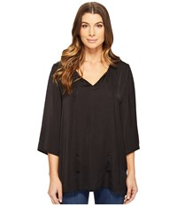 Tart Emilia Tunic Black Women's Clothing