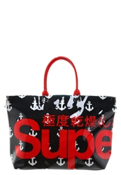 Superdry Anchor Whopper Tote Bag Ribbon Red Blue