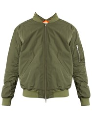Martine Rose Cut Out Shell Bomber Jacket Green