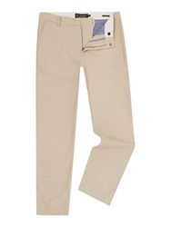 Howick Slim Fit Fraternity Casual Chino Clay