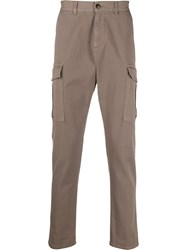 Eleventy Contrast Piping Cargo Trousers 60