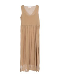 Jucca Long Dresses Camel