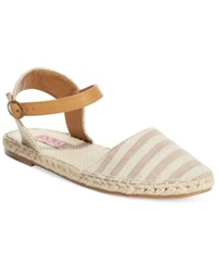 Dolce By Mojo Moxy Sahara Two Piece Flats Women's Shoes Natural