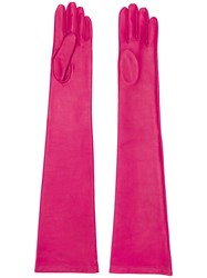 N 21 No21 Full Sleeve Gloves Pink