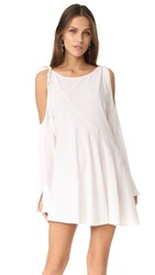 Free People Clear Skies Solid Tunic White