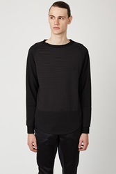 Opening Ceremony Duo Square Pullover Black