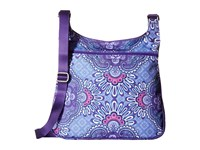 Vera Bradley Lighten Up Slim Crossbody Lilac Tapestry Cross Body Handbags Purple