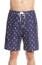 Men's Trunks Surf And Swim Co. 'San O' Anchor Print Swim Trunks
