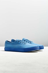 Urban Outfitters Uo Garment Dyed Cvo Sneaker Blue