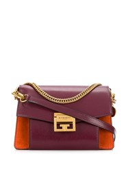 Givenchy Gv3 Small Shoulder Bag Red