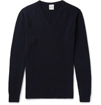 Hardy Amies Cashmere Sweater Navy